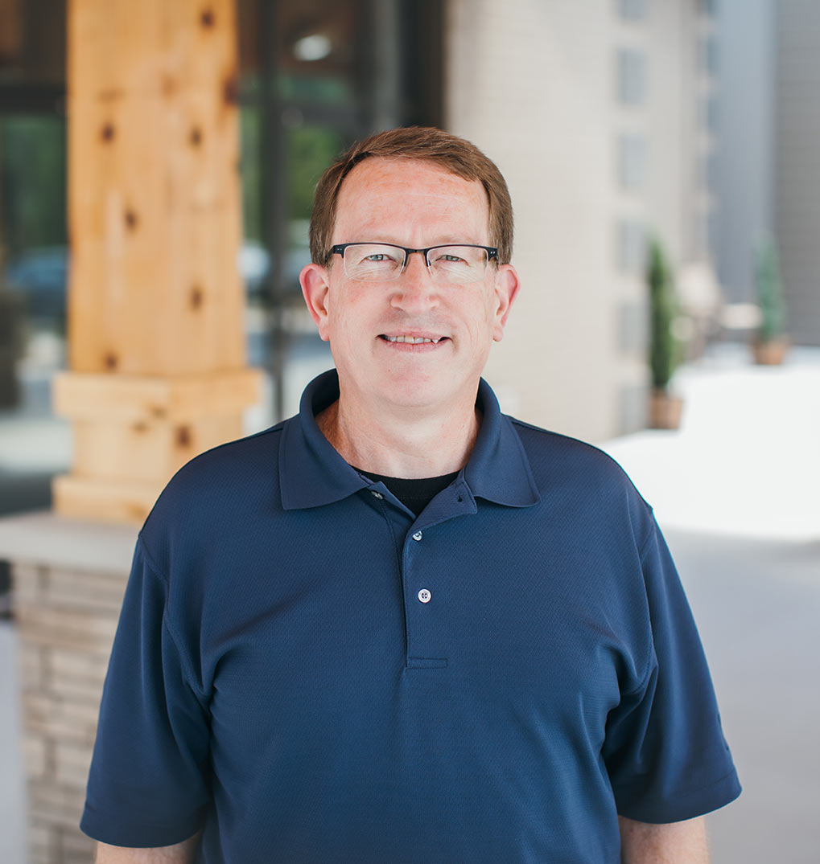 David MacDowell, facilities director for Bethlehem Church