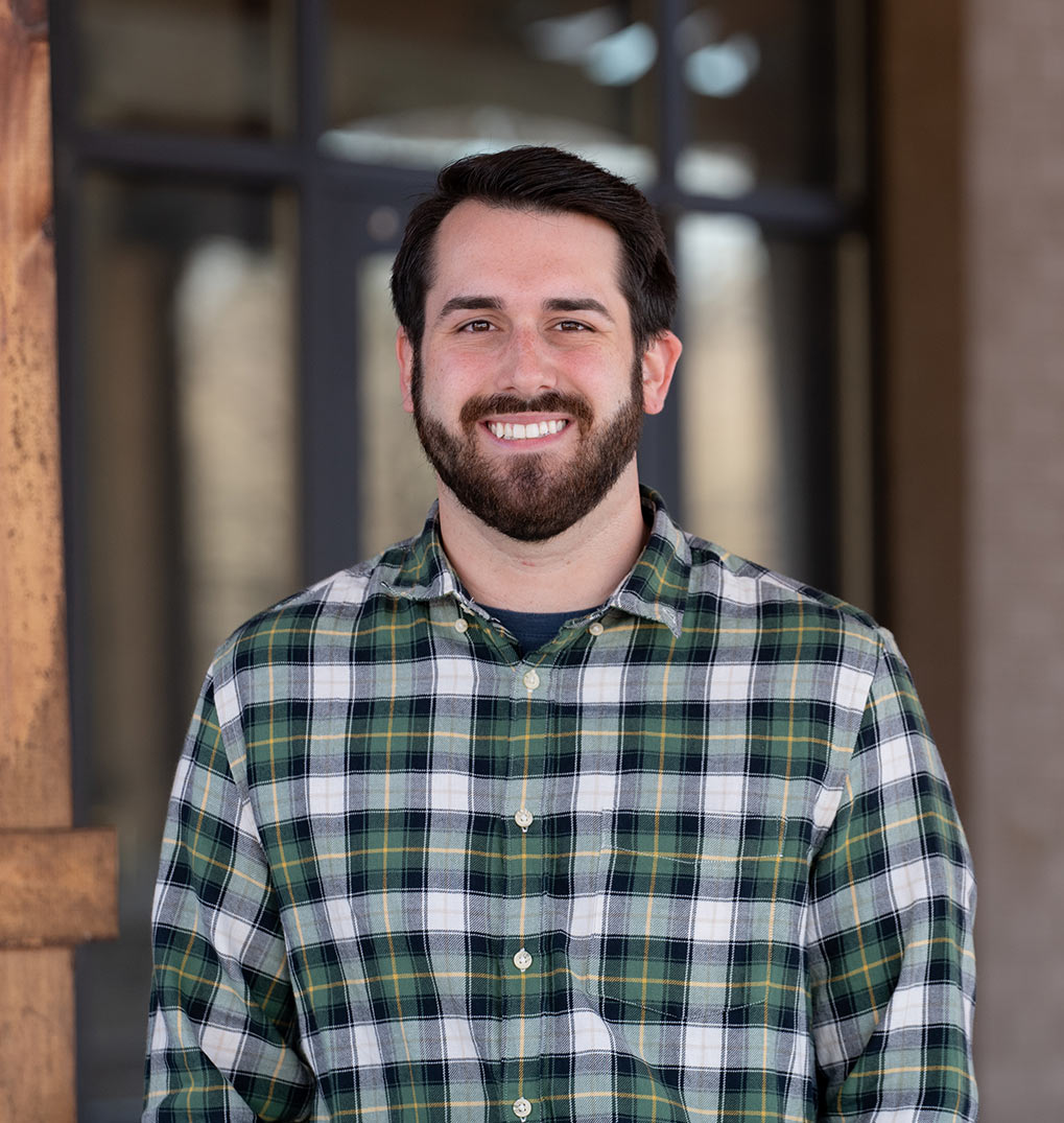 Jacob Dickinson, student worship coordinator in the student ministry at Bethlehem Church