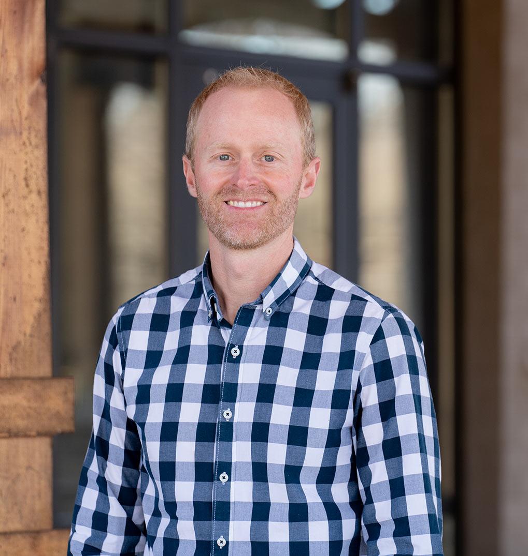 Kyle Hale, campus pastor at Bethlehem Church 316