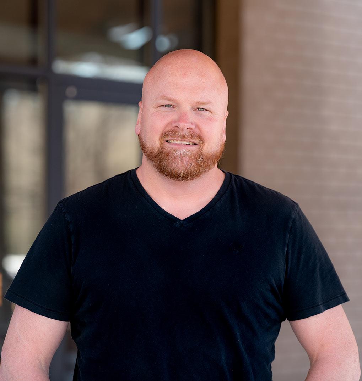 Shane Crowe, pastoral care at Bethlehem Church